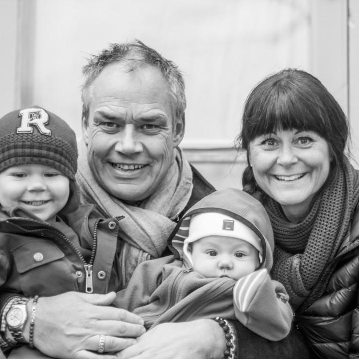 Familjen Wilander - familjefotografering