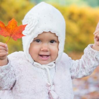 Saga 14 mån - barnfotografering