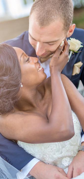 Taza och Fredrik - bröllopsfotografering