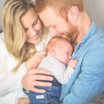 Familjen Janeröd - Nyföddfotografering
