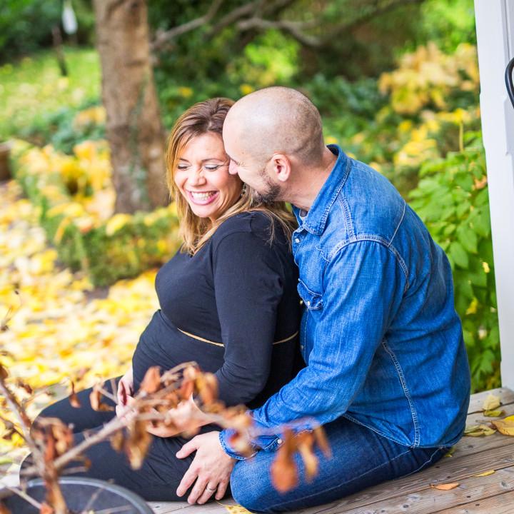 Karin o Mike - gravidfotografering