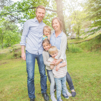 Familjen Ejdemo - familjefotografering