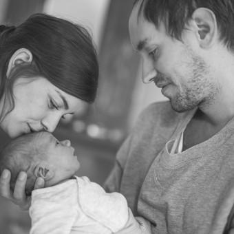 Familjen Cedervall - Familjefotografering Stockholm